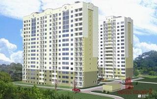 Началось строительство 16-этажного жилого дома по пр.50 лет ВЛКСМ, 61