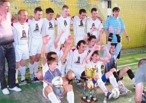 Команда по мини-футболу «Жилстрой-2» вышла в Суперлигу Харьковского областного Кубка