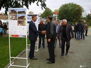 «Жилстрой-2» оказал помощь в проведении выставки современных коттеджных проектов