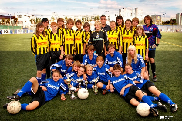 Игроки футбольной команды «Жилстрой-2» вошли в состав сборной Украины