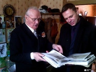 А.Конюхов поздравил ветерана с 90-летним юбилеем