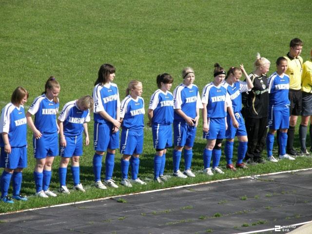 Команда «Жилстрой-2» сыграла во втором туре чемпионата Украины по футболу среди женщин