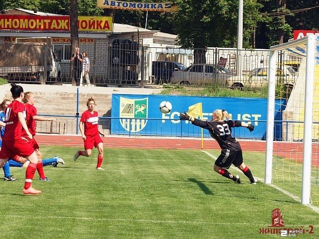 Команда «Жилстрой-2» сыграла в четвертом туре чемпионата Украины по футболу среди женщин