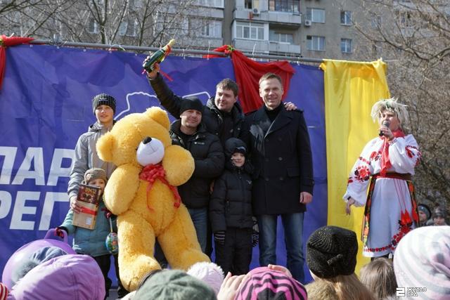 В Харькове отгуляли праздник Масленицы