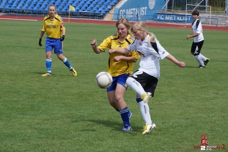 «Жилстрой-2» лидирует в Чемпионате Украины по футболу среди женских команд первой лиги