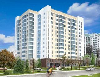 «Жилстрой-2» возводит 8-й этаж жилого комплекса по пр. Маршала Жукова, 18-А