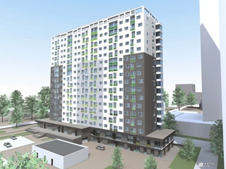 «Жилстрой-2» возводит 8-й этаж 2-й секции ЖК «Оптима»