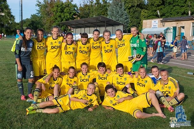 «Жилстрой-2» выиграл у команды «Легенда» в 8-м туре Чемпионата Украины по футболу среди женских команд высшей лиги
