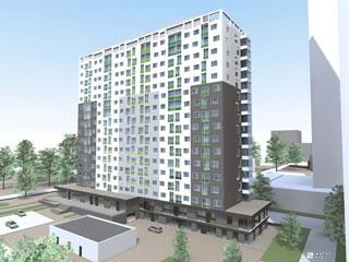 «Жилстрой-2» возводит 11-й этаж 2-й секции ЖК «Оптима»
