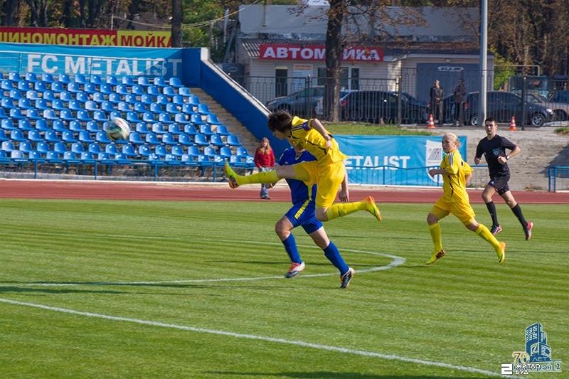 «Жилстрой-2» разгромил команду «Родына-Лицей» в матче Чемпионата Украины