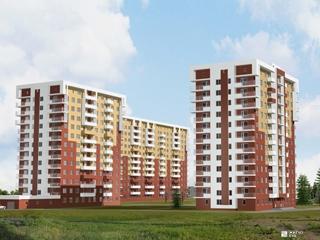 Строится 1-й этаж 3-й секции ЖК «Садовый» на Новых Домах