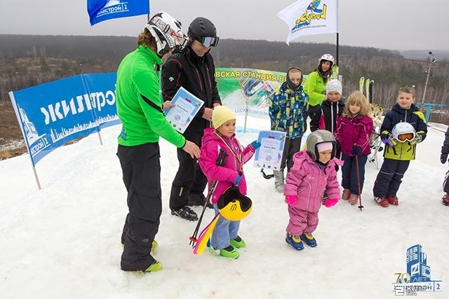 Завершились горнолыжные соревнования Кубок LuckySki при поддержке «Жилстрой-2»