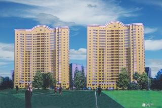 Строится 5-й этаж ЖК «Дуэт» по ул. Целиноградской на Алексеевке