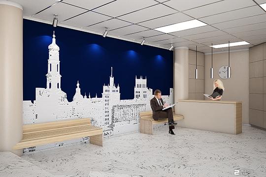 Выполнены дизайн-проекты холлов ЖК «Заречный» и ЖК «Флагман»