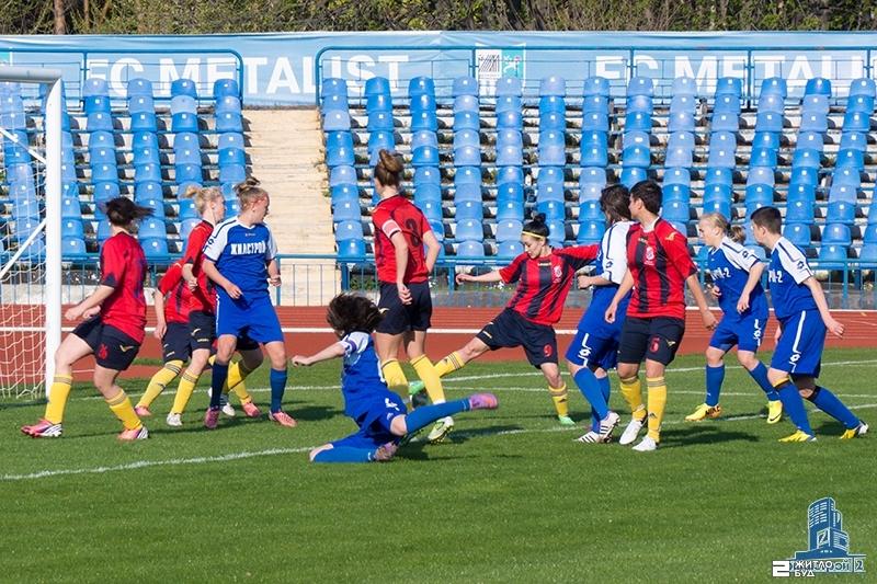 «Жилстрой-2» одержал победу в 1-м туре Чемпионата Украины по женскому футболу