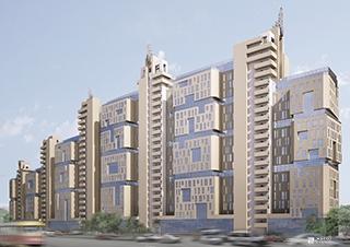 Возводится 4-й этаж 1-й секции ЖК «Павловский квартал»