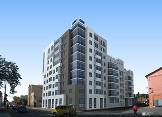 Ведется строительство 3-го этажа ЖД «Подольский» в центре Харькова