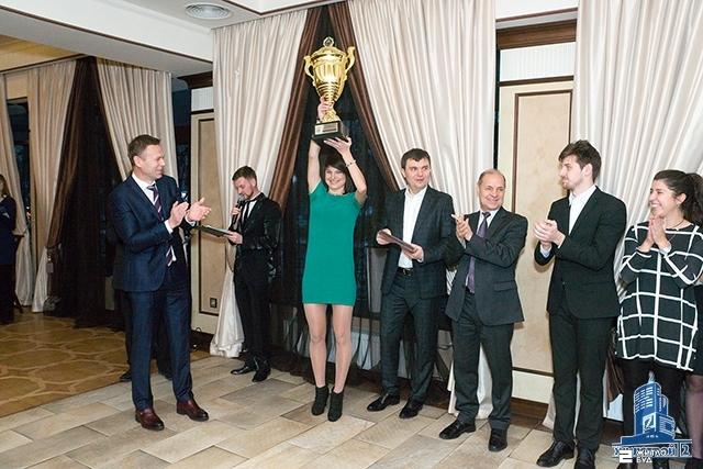Команда «Жилстрой-2» награждена золотыми медалями Чемпионата Украины-2016