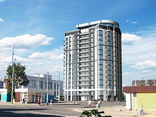 Возводится 10-й этаж ЖК «Виктория» по пр. Петра Григоренко, 2-Ж