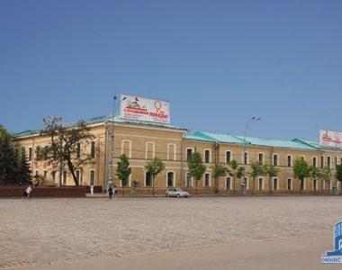 Реконструкция здания Дворца пионеров, ул. Сумская, 37, 1960 г.