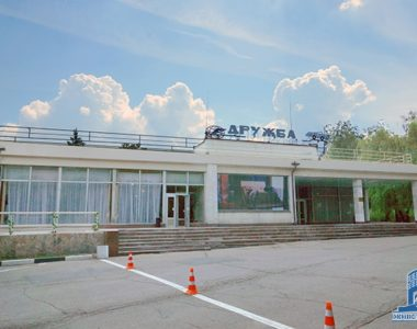 Мотель «Дружба», пр. Гагарина, 185, 1969 г.