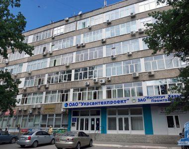 Здание института «Сантехпроект», ул. Тобольская, 42