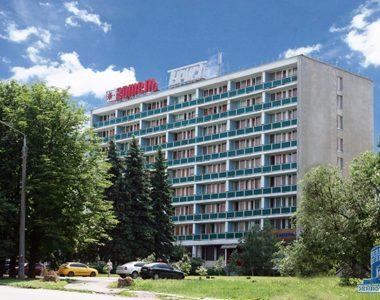 Гостиница «Турист», Московский проспект, 144, 1972 г.