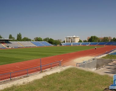 Реконструкция стадиона «Динамо», ул. Динамовская, 3, 1971 г.