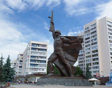 Памятник Солдату, ул. 23 Августа, 1981 г.