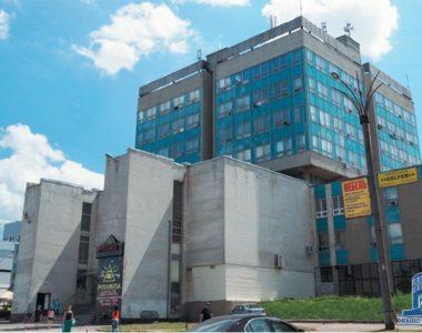 Здание проектно-технологического института машиностроения «ПТИмаш», пр.50-летия ВЛКСМ, 56, 1985 г.