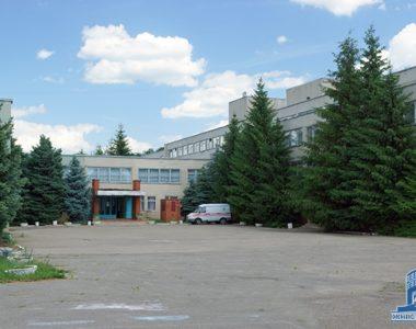 Областной детский туберкулезный клинический санаторий, ул. Архитекторов, 40, 1986 г.
