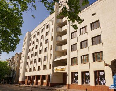 Гостиница «Киевская», ул. Культуры, 4, 1988 г.