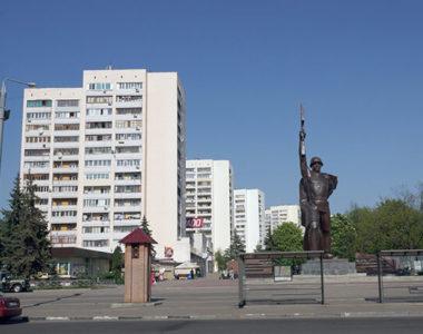 Комплекс 14-этажных жилых домов, ул. 23 Августа, 1965-1975 г.