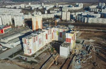 """Во второй секции ЖК """"Меридиан""""  установлено перекрытие над четвертым этажом"""