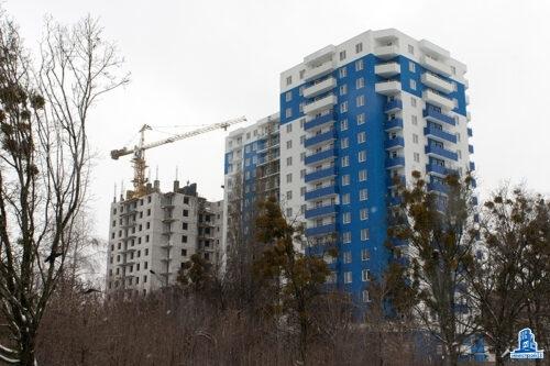 """В третьей секции ЖК """"Дом на Зерновой"""" установлено перекрытие над тринадцатым этажом"""