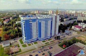 """В третьей секции ЖК """"Дом на Зерновой"""" фасад подготовлен к окрашиванию"""
