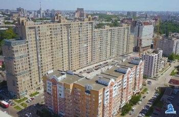 """В седьмой секции ЖК """"Павловский квартал"""" завершен монтаж перекрытия над третьим этажом"""