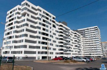 В секции №3 дома №4 завершен монтаж перекрытия над шестым этажом
